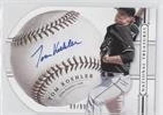 Tom Koehler #9/99 (Baseball Card) 2014 Panini National Treasures - Baseball Signature Die-Cuts #91