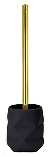 Kleine Wolke Golden Crackle Accessoires, Polyresin, Schwarz Maße ca. 106 x 390 mm