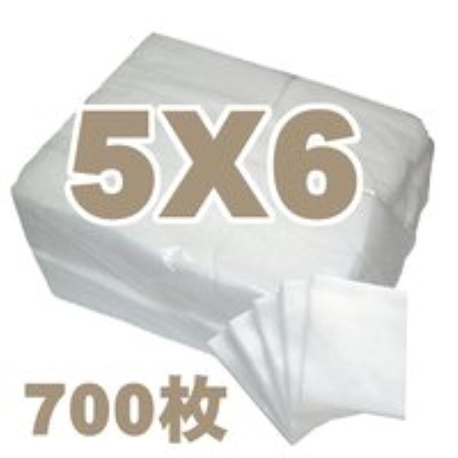 幻想的影貫入業務用フェイシャルコットン 5×6cm(700枚) エステ?ネイル用コットン