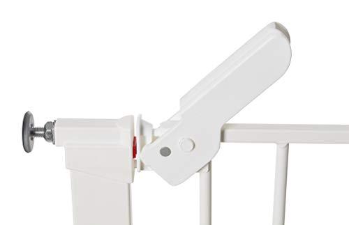 Baby Dan Premier Barrière à Fixation par Pression pour Porte/Escalier, Blanc, 99 - 106,3 cm