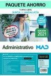 Paquete Ahorro Administrativo Junta de Andalucía. Ahorra 68 € (incluye Temario volúmenes 1, 2, 3, 4; Casos prácticos segundo ejercicio; 4500 test online gratis y acceso Curso Oro)