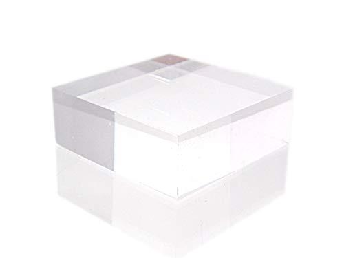 アクリルブロック 鉱物アクリルステージ 40×40×15(mm)《Lサイズ5点セット》【雑貨AMERI】