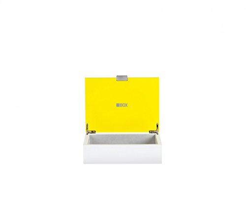 sompex Box 1, Farbe:gelb/weiß