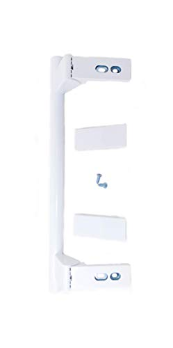 SERVI-HOGAR TARRACO® Tirador Puerta Frigorifico Liebherr (largo 31cm ente agujeros 24, 5cm) con tapa embellecedora