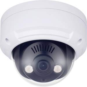 WBox Technologies 0E-HD4MP28DM 4MP IR WDR Analog Outdoor Dome Camera with a 2.8mm Lens, BNC Connection.