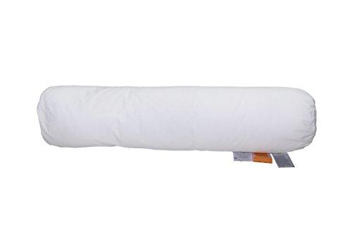Abeil Sérénité Traversin Coton/Polyester Blanc 160 x 21,5 cm, fabriqué en France