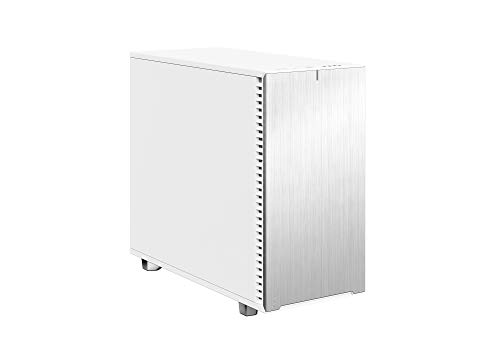 Fractal Design Define 7 White Solid Brushed Aluminum/Steel E-ATX Silent Modular Mid Tower Computer Case