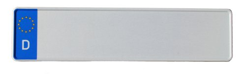 KFZ-Kennzeichen EU 460 x 110 mm, reflektierend, Autoschilder mit Wunschkennzeichen