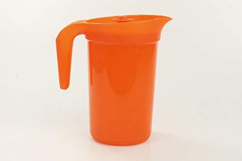 TUPPERWARE Jarra Especial de 2,0 L naranja con el tamiz