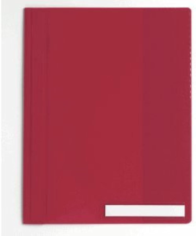 Durable 25 x Sichthefter A4 Kunststoff Kunststoff Kunststoff rot B0047VJ6X0   Merkwürdige Form  587ed0