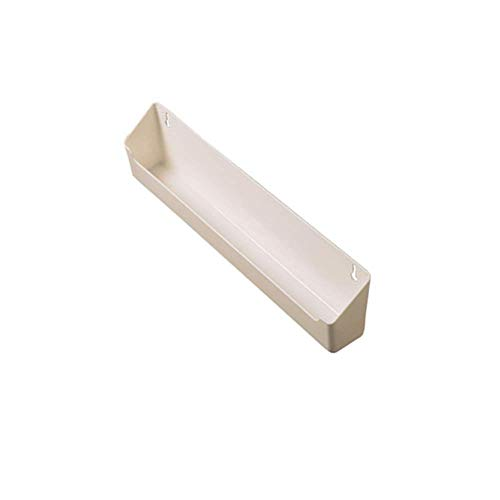 Rev-A-Shelf White Polymer Lazy Daisy Sink Tip Out Tray for Kitchens, Laundry Rooms, or Vanity Cabinets (24)