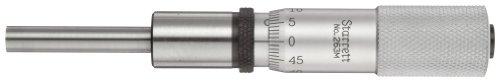 Starrett 263MP Einbaumessschraube, 0–25mm Range, 0.01mm Graduation, -0.002mm Genauigkeit, Uni Fingerhut