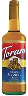 R. Torre & Company Italian Egg Nog Drink Syrup, 750mL (03-0085) Category: Drink Syrups