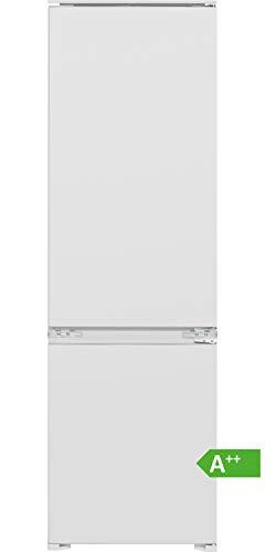 Bomann Einbau- Kühl-/Gefrierkombination KGE 7808 / LED-Beleuchtung/Wechselbarer Türanschlag/Nutzinhalt: 248 Liter