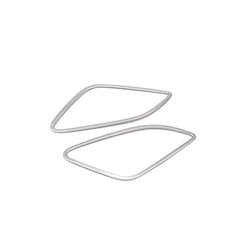 WLDZGGD Auto Aria Condizionata Sfiato Cornice Decorativa Copertura Trim Cruscotto Presa d'Aria Adesivi Striscia per Au-di Q3 2013-2017 Trim Sticker
