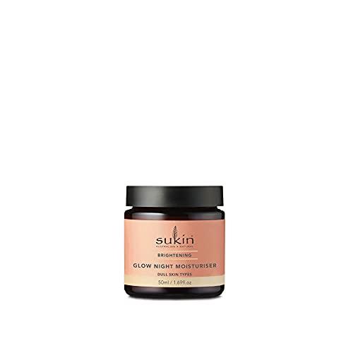 Sukin Brightening Glow Night Cream, 50 ml