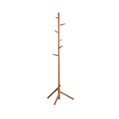 SZQ-Percheros burro La entrada Escudo Rack, Solid Escudo de madera pesada perchero perchas Estructura creatividad árbol Forma Escudo vertical Ganchos de caja y espiga , Para el hogar / tienda de ropa