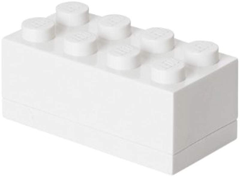 LEGO Mini Box 8 White 4012w