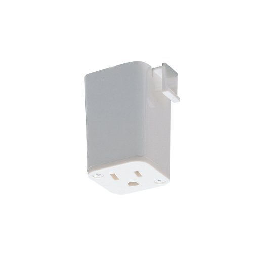 Nora Lighting NT-327W Outlet Adapter Track Accessory