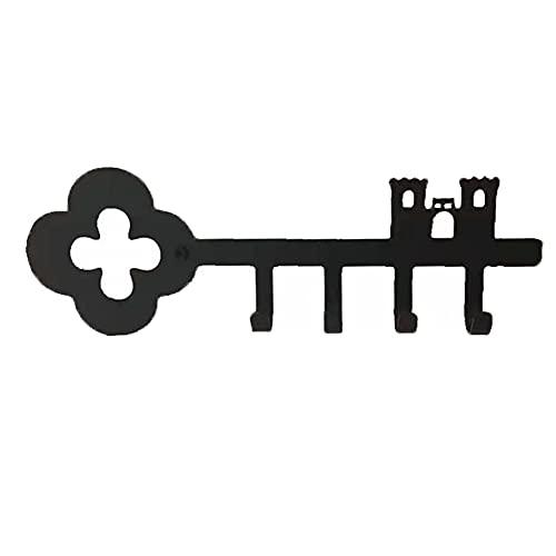 Organizador de llaves de pared, con 4 ganchos, para colgar las llaves de la casa, la cocina, las llaves del vehículo