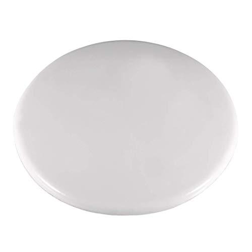 YeVhear - Protectores de pared para pomo de puerta (80 mm, autoadhesivo), color blanco