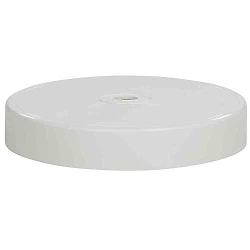 Sun Garden Oberschale Ersatzteil zu Easy Sun Ampelschirm Bodenständer (Weiß)