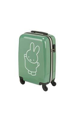 Princess Traveller Miffy handbagage koffer 55x20x35, 35l, groen