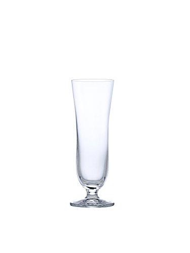 Dkristal Astoria Copa de Cerveza, 0.30 L, Cristal, 6.5x6.5x18.5 cm, 6 Unidades