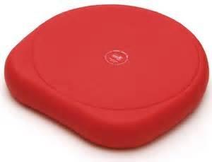 SISSEL Cuscino SITFIT Plus, incl. pompa, colore: Rosso