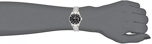 Invicta 8932OB Pro Diver Montre Unisex acier inoxydable Quartz Cadran noir