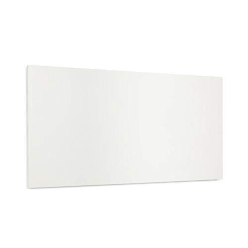 Klarstein Wonderwall Air Infinite - Infrarotheizung Elektroheizung Heizpanel, rahmenlos, geräuschlos, Wandaufhängung, OpenWindow Detection, für Allergiker, Thermostat, 120 x 60 cm, 720 W, weiß