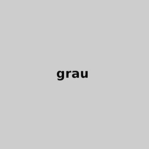 Dukal, Bezug Bumerang Kissen/Lesekissen, Farbe: grau, aus hochwertigem DOPPEL-Jersey (100% Baumwolle)