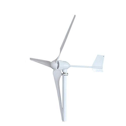 XHNXHN Aerogenerador 1000W, 24V / 48V Generador con 3 Palas Generador de energía eólica para Uso doméstico, 48v