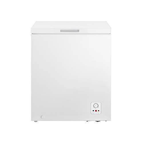 HISENSE FC184D4AW1 Congelatore a Pozzo 142 L di capacità, classe energetica A+. Dimensioni (L x P x A) 62,5 x 55,9 x 85,4 cm, Colore Bianco