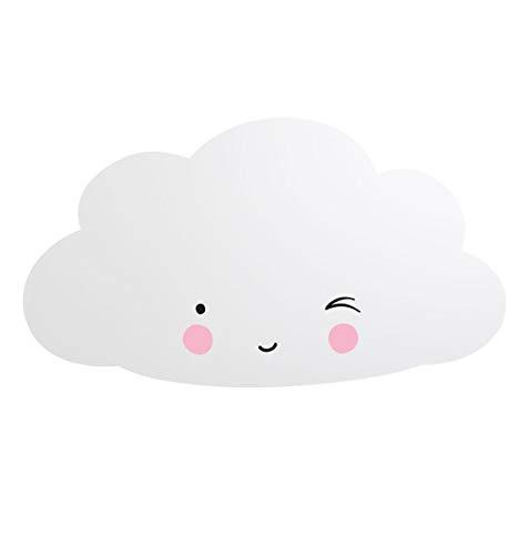 A Little Lovely Company MRCLSI02 - Miroir en forme de nuage