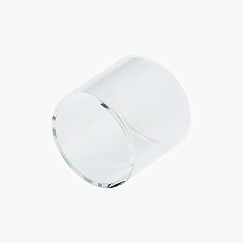Qingtian-ceg Reemplazo 1pc Tubo de Vidrio Pyrex en Forma for SMOK Vape Pen 22 Kit de Inicio del atomizador del Tanque 22 mm de diámetro (Color : Claro)