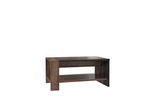 furniture24_eu Couchtisch, Sofatisch, Kaffetisch Trass TRAT51, Schlameiche Dekor