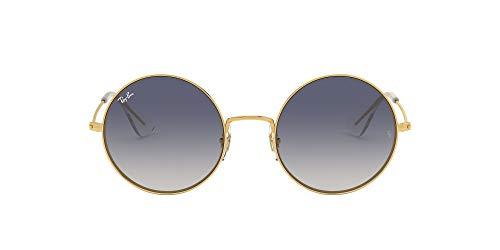 Ray-Ban 0RB3592 001/I9 55 Occhiali da Sole, Oro (Gold/Light Brown Gradient Blue), Donna
