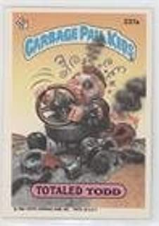 Totaled Todd (Trading Card) 1986 Topps Garbage Pail Kids Series 6 - [Base] #237a