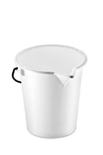thermohauser Messeimer (Kunststoff LDPE), Skala und Ausguss, Durchm. 28 cm, 10 L