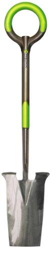 Radius Garden 201 PRO Garden Stainless Steel Spade, One Size, Original Green
