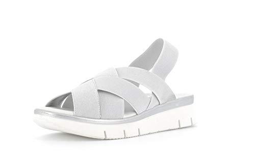 The Flexx Schuhe Frauensandalen D2016 19 LORYBETH Silver Größe 38 Silber