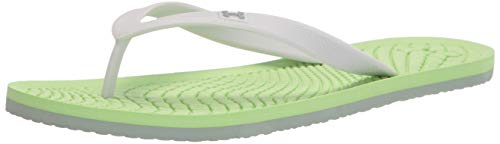 Under Armour womens Atlantic Dune T Flip Flop, Yellow, 6 US