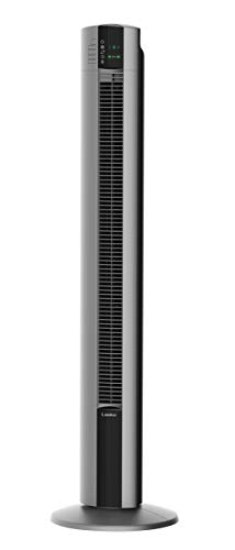 """Lasko Portable Electric Oscillating Stand Up Tower Fan, 48"""", Gray T48314"""