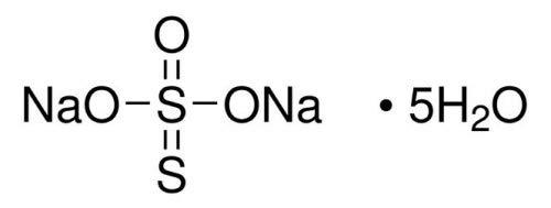 S3 Chemicals Natriumthiosulfat Pentahydrat (min. 99%, Ph. Eur.) (Fixiersalz) Größe 25kg