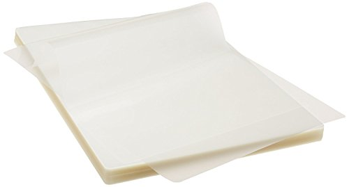 Thermal Laminating Pouches 5 Mil Clear Letter Size Laminating Sheets - 8.9 X 11.4 Inch (100 pcs/Pack)