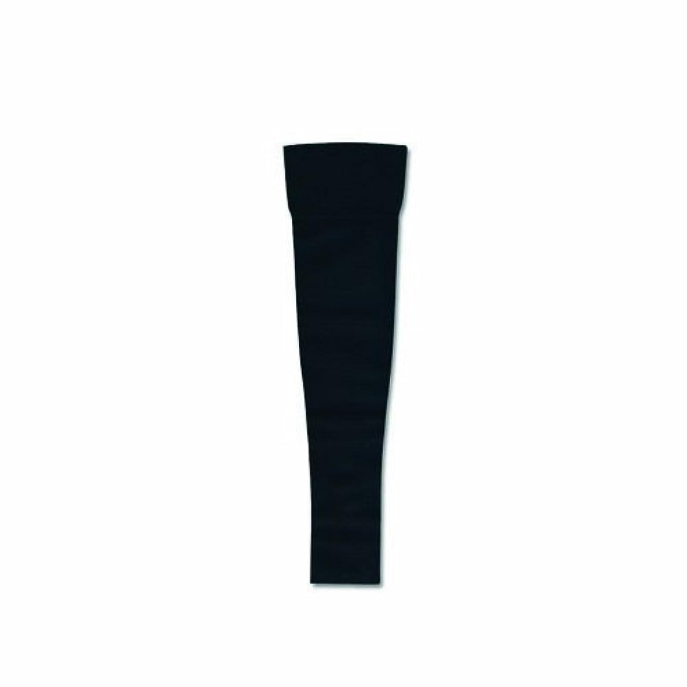 運動白雪姫申請中リンパディーバ アームスリーブ(ミトンなし) Mサイズ オニキスブラック色 圧迫力27-40Hpa(20-30mmHg)