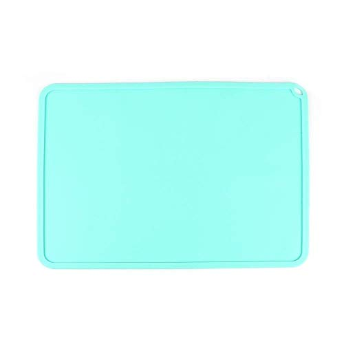 Printer Accessories Silicone Slap Mat Blue/Gray 410 * 310mm Clean-up Or Resin Transfer to Protect Work Surface for DLP SLA 3D Printer Accessories 3D Printer Parts (Color : Blue) (Color : Gray)