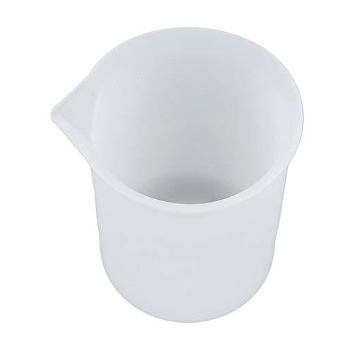 WxberG Juego de 2 tazas medidoras de silicona, flexibles, aptas para lavavajillas