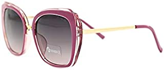 Women Polarized Lens - UV Protection Butterfly Frame Sunglasses With Gift Box 95213-C1